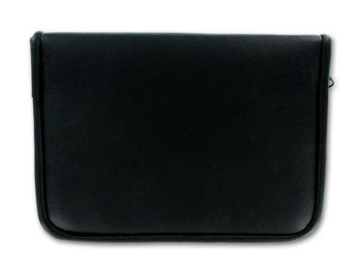 9-Tool Black Leatherette Zipper Pouch