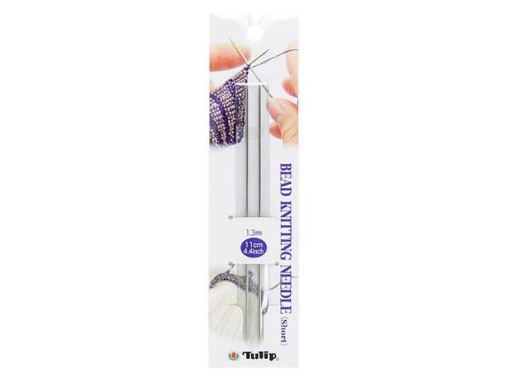 Tulip Bead Knitting Needle Short (2 pack)