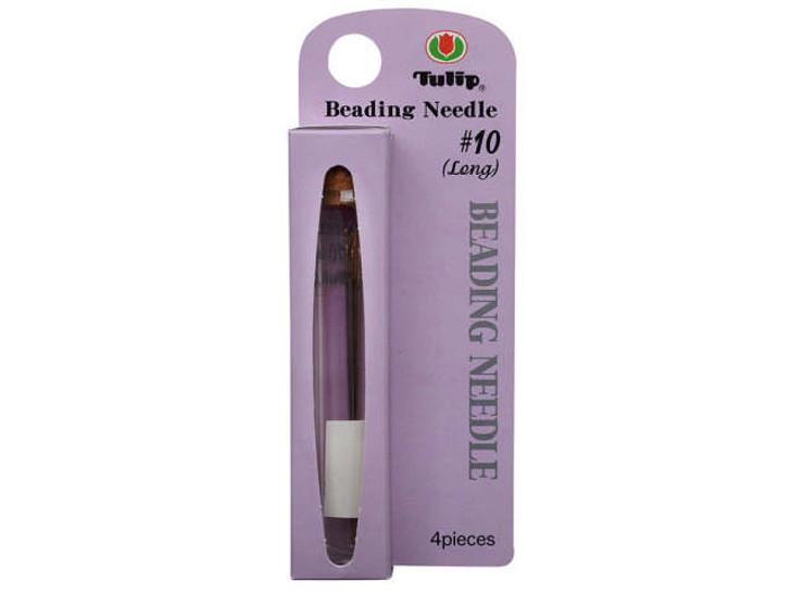 Tulip Beading Needle No 10 Long (4 pack)