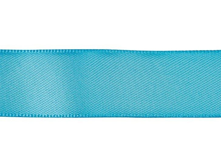 Turquoise 5/8 Inch Satin Ribbon By the Foot