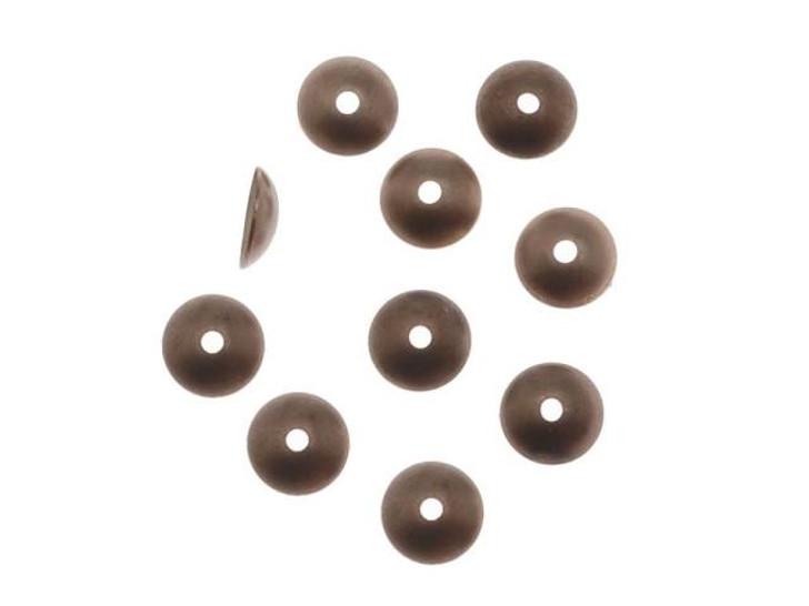 Vintaj Natural Brass 7mm Classic Bead Cap