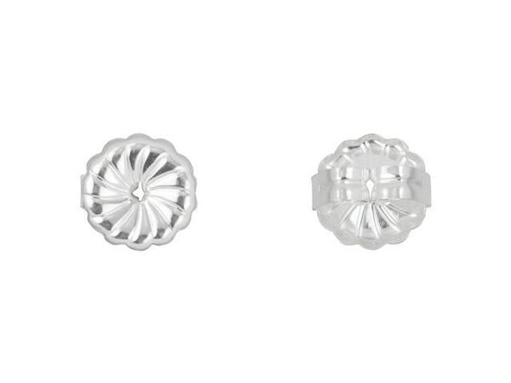 Sterling Silver 7mm Premium Earring Back