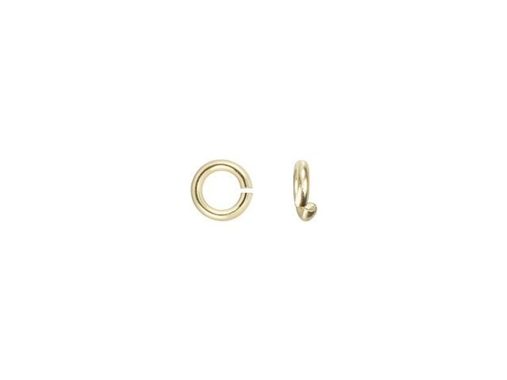 Gold-Filled 14K/20 2.5mm 24 Gauge Precision Cut Jump Ring