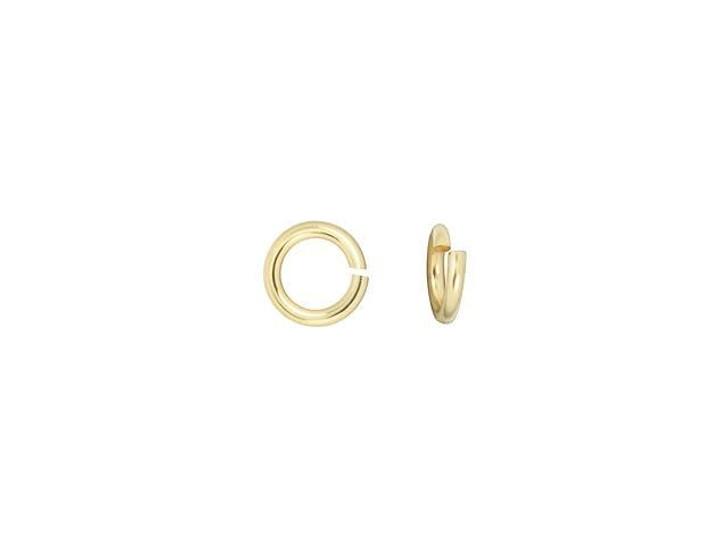Gold-Filled 14K/20 3mm 24 Gauge Precision Cut Jump Ring
