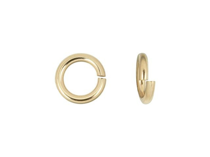 Gold-Filled 14K/20 5mm 19.5 Gauge Precision Cut Jump Ring