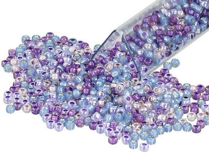 Artbeads Perfectly Purple Designer Blend, TOHO 11/0 Round Seed Beads