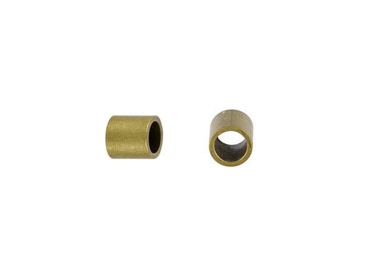 Antique Brass 2 x 2mm Crimp Tube