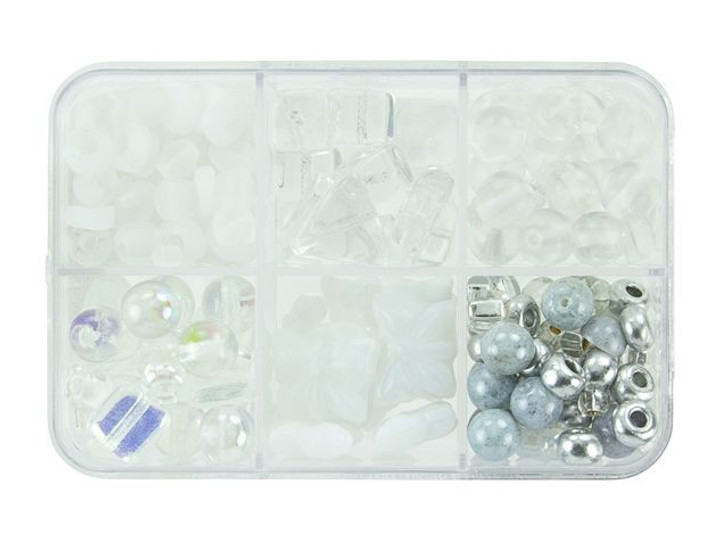 Czech Glass Wedding Cake Bead Mix Recipe Box
