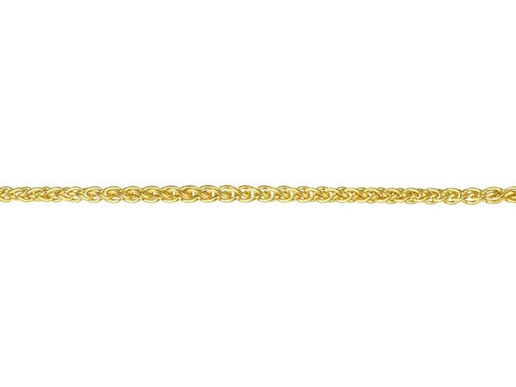 Gold-Filled 1mm Wheat Chain By the Foot