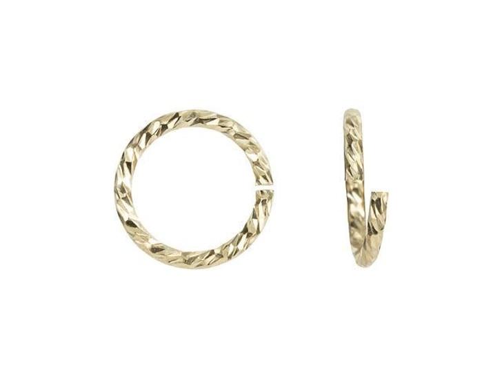 Gold-Filled 20.5 Gauge Sparkle Jump Ring (0.76 x 6.5mm)