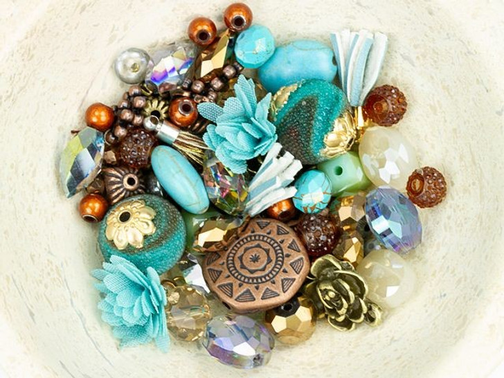 Jesse James Beads Design Elements Bead Mix in Tucson Sunset