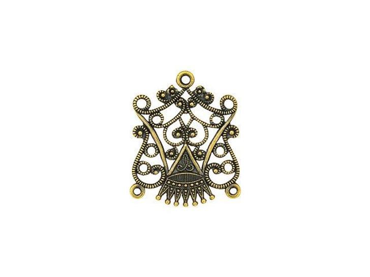 Kabela Design Filigree Crown 5-ring Chandelier