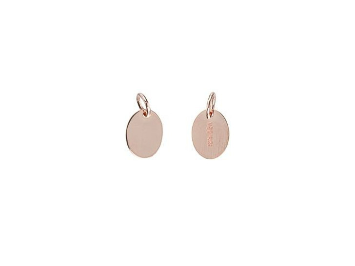 Rose Gold-Filled 7.3 x 5.5mm Oval Quality Tag with Ring