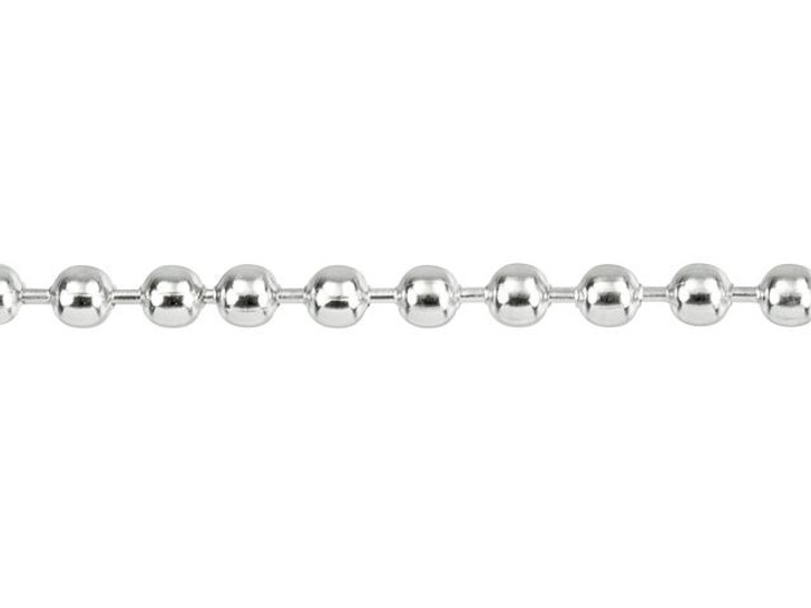 Stainless Steel 2.4mm Ball Chain with Connector (1 Meter)