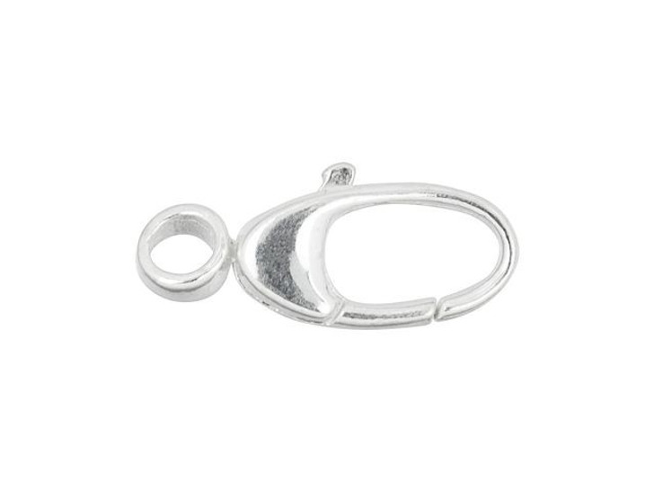Sterling Silver 14mm Oval Swivel Clasp