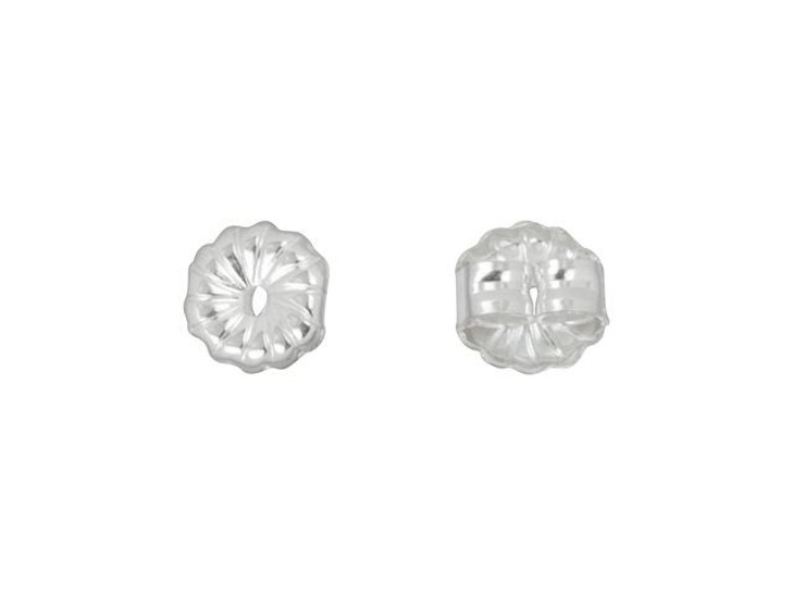 Sterling Silver 5mm Premium Earring Back