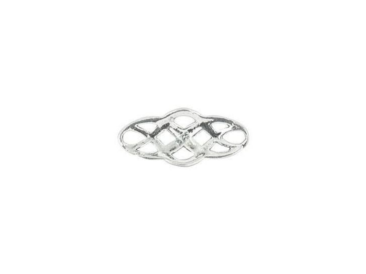 Sterling Silver Oval Celtic Link