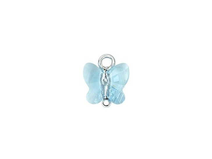 Swarovski 190109 9mm Cutie Cutes Bella Butterfly Blue Charm