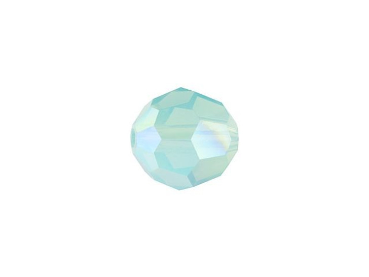 Swarovski 5000 6mm Faceted Round Pacific Opal Shimmer