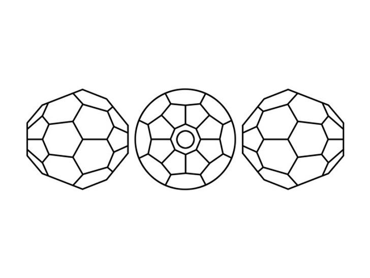 Swarovski 5000 6mm Faceted Round Rose Water Opal Shimmer