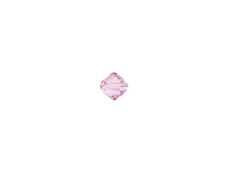 Swarovski 5328 2.5mm XILION Bicone Light Rose