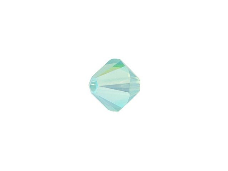 Swarovski 5328 5mm XILION Bicone Pacific Opal Shimmer