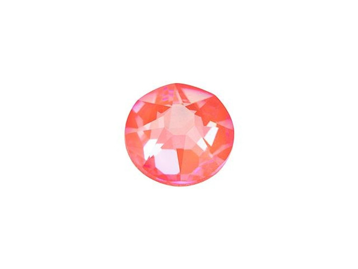 Swarovski H2078 SS20 Hotfix Xirius Rose Flatback Crystal Electric Orange LacquerPRO DeLite