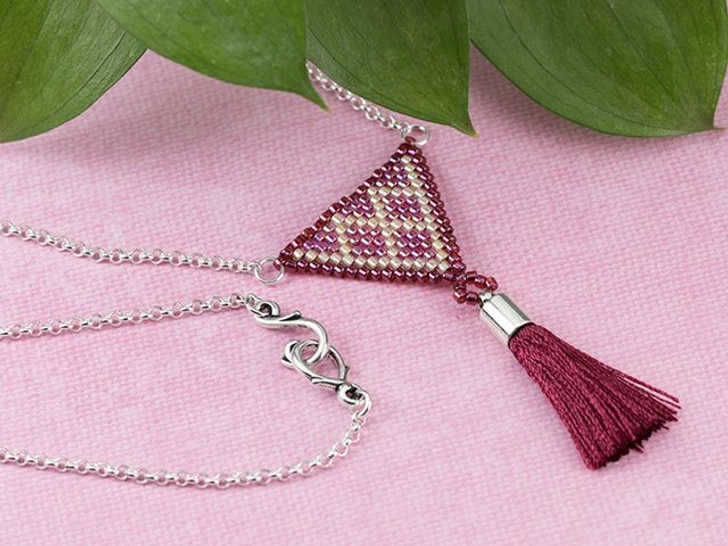 Agave Tassel Necklace