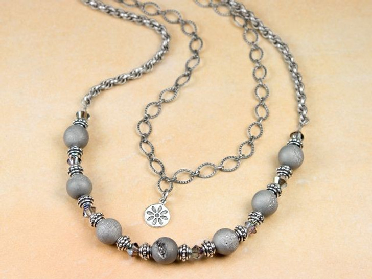Gray Dawn Necklace