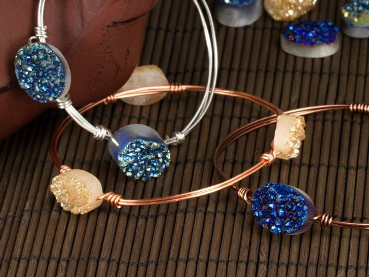 How to Create a Wire-Wrapped Bracelet with Beads