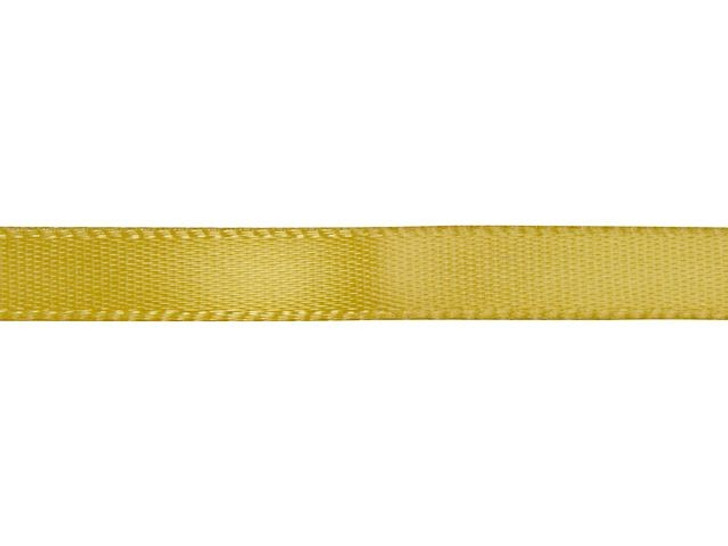 Antique Gold 1/4 Inch Satin Ribbon By the Foot