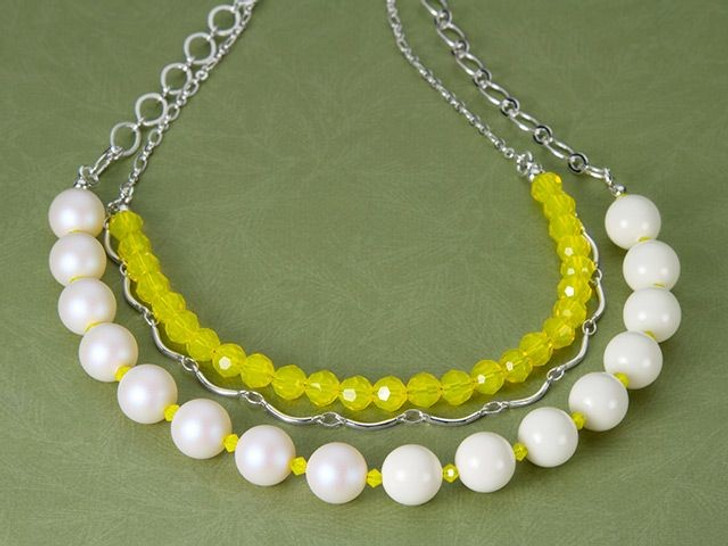 Lemon Sorbet necklace
