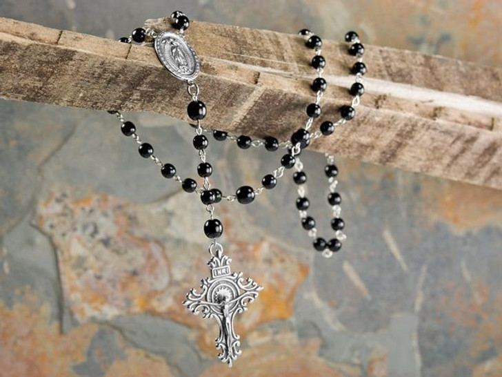 Men's Crucifix Rosary