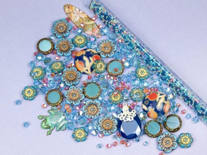Swarovski Aquamarine Shimmer Color Party