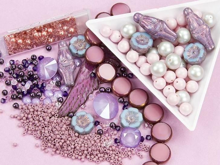 Swarovski Crystal Lilac Color Party