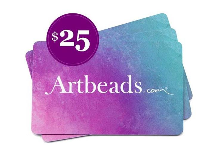 $25 Artbeads Gift Card