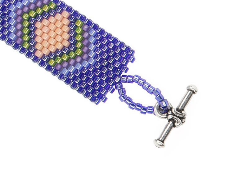 Artbeads Sunset's Glow Peyote Stitch TOHO Aiko Bracelet Kit by Cynthia Kimura