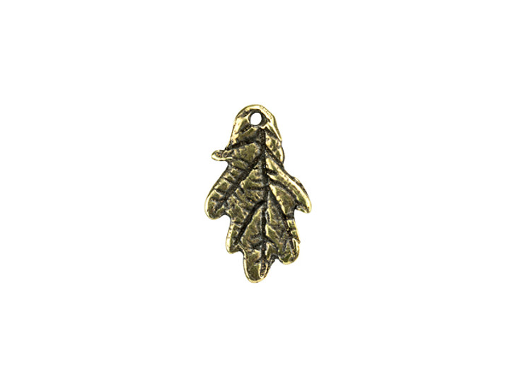 Anna Bronze Tiny Oak Leaf Pendant