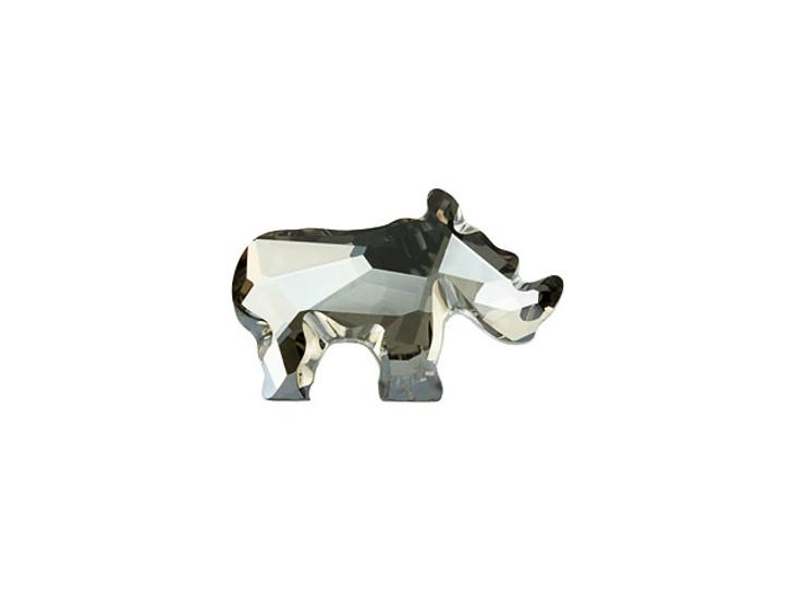 Swarovski 2837 20mm Rhino Flatback Crystal Satin