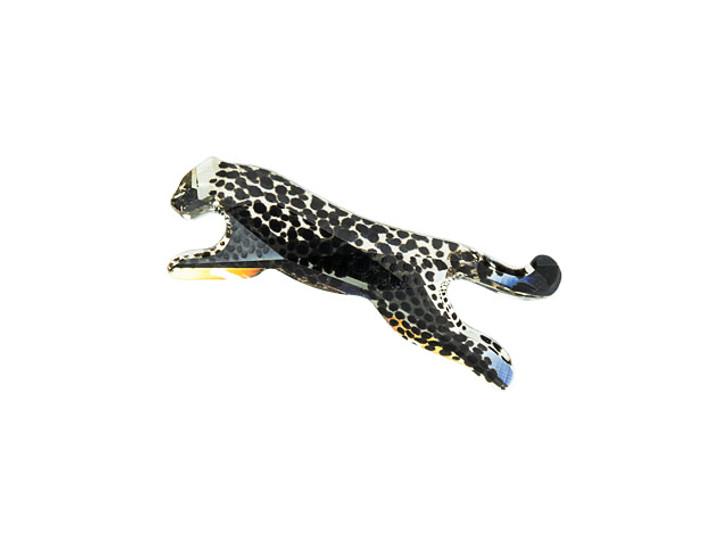 Swarovski 2840 27mm Cheetah Flatback Light Silk