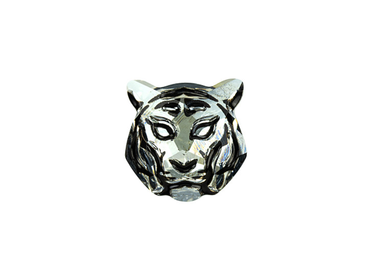 Swarovski 2843 16mm Tiger Flatback Crystal Silver Shade