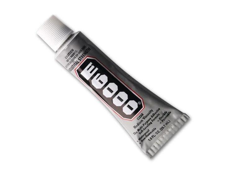 E6000 Glue 1oz Tube - Medium/Clear