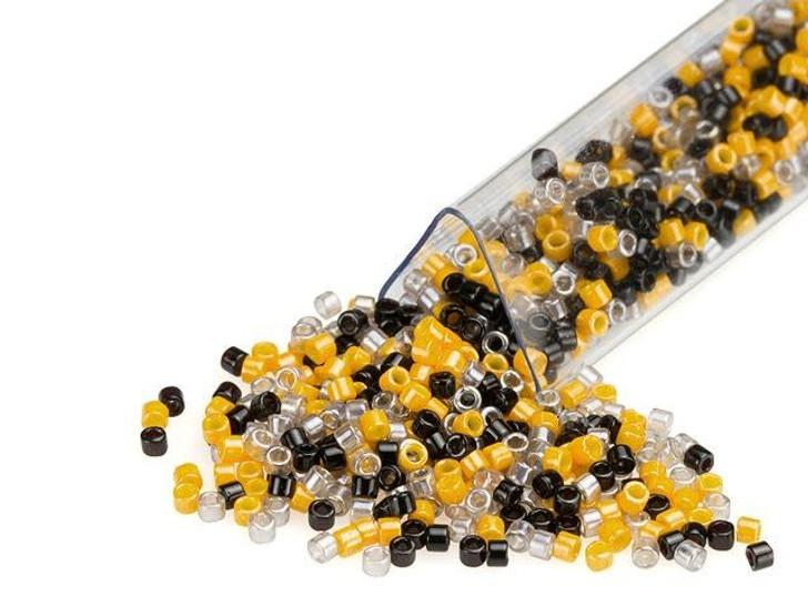 Artbeads Bumblebee Designer Blend, 11/0 Miyuki Delica Seed Beads