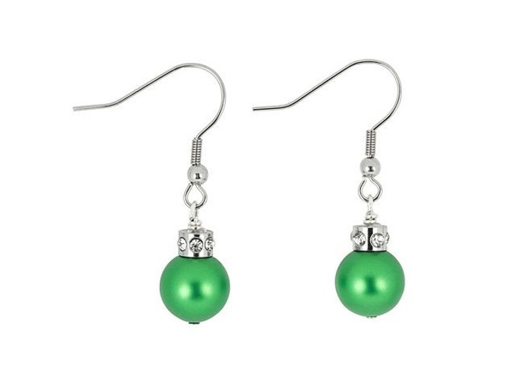 Artbeads Christmas Ornament Earrings Kit featuring Swarovski Crystal Pearls