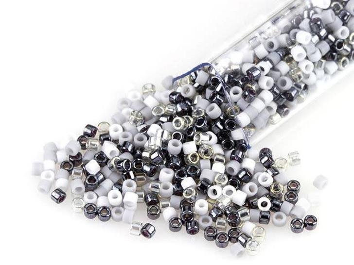 Artbeads Tuxedo Junction Designer Blend, 11/0 Miyuki Delica Seed Beads