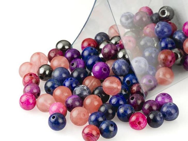 Artbeads Creativity Designer Blend, 6mm Round Gemstone Beads