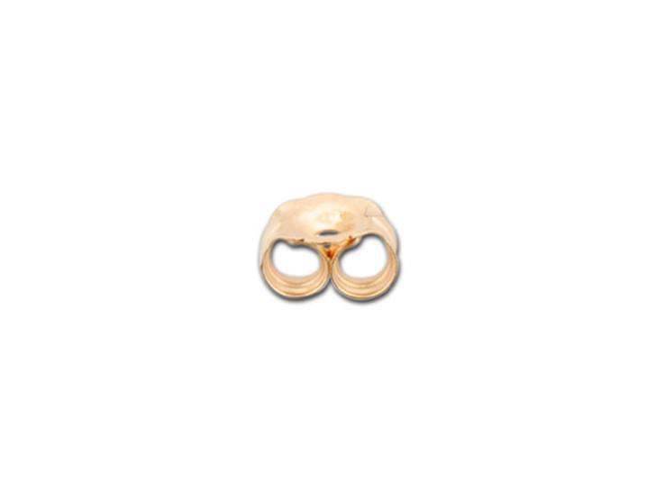 Rose Gold-Filled Heavy Earring Back (5.5 x 5mm)