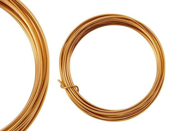 Artbeads Designer Wire - Bronze Non-Tarnish 16 Gauge (15-foot coil)