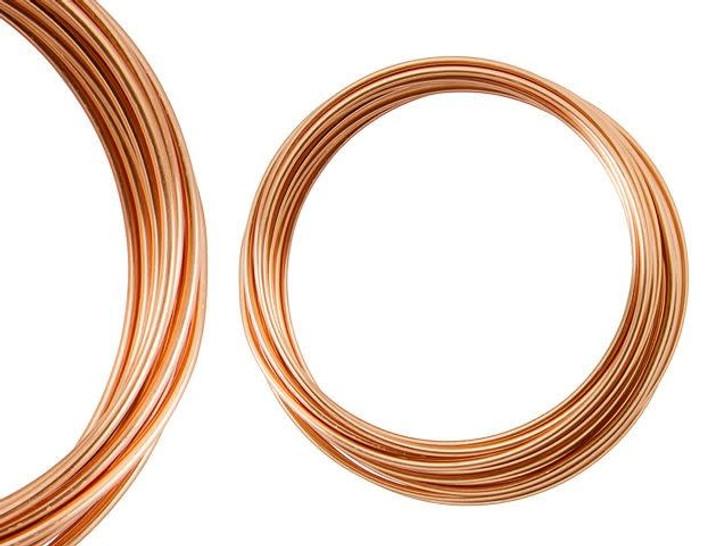Artbeads Designer Wire - Copper Non-Tarnish 14 Gauge (10-foot coil)
