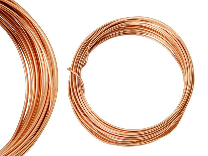 Artbeads Designer Wire - Copper Non-Tarnish 16 Gauge (15-foot coil)